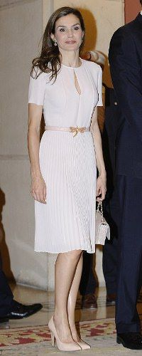 22 June 2017 - Queen Letizia attends Plenary Meeting of the Royal Spanish Academy
