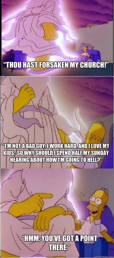 Wisdom from Homer Simpson