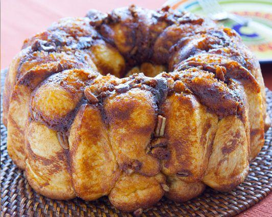 Pumpkin and Cream Cheese make this a delicious fall dessert.