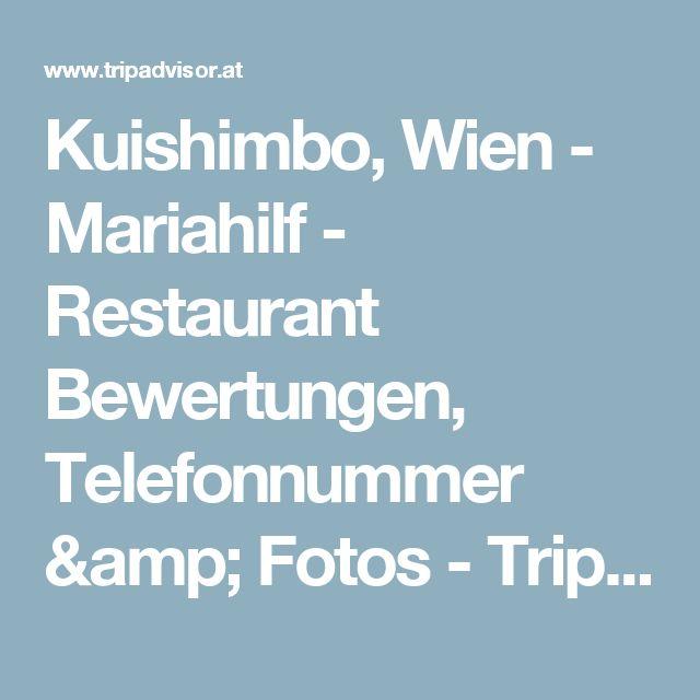 Kuishimbo, Wien - Mariahilf - Restaurant Bewertungen, Telefonnummer & Fotos - TripAdvisor