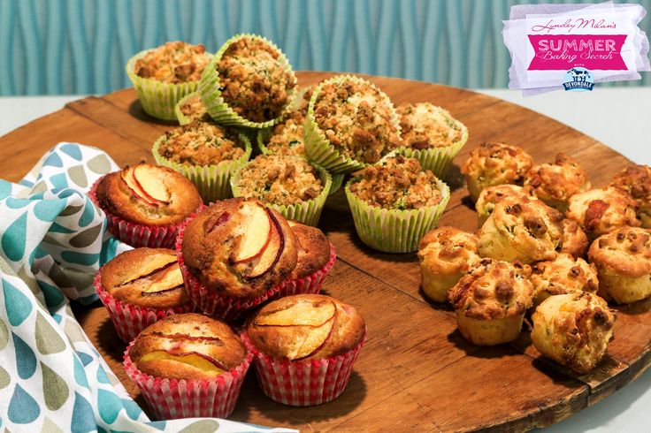 Everyone loves muffins - created equal! Therefore I was delighted to develop these recipes when I teamed up with Aussie farmers Devondale for my latest tv series Lyndey Milan's Summer Baking Secrets, airing Sundays (starting Feb 14 2016) at 12:00pm noon on the Channel 7 network! While recipe testing for the show, we came up with so
