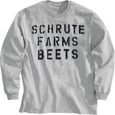 Can't get away from the office? Don't worry! You can pick up this souvenir long sleeve shirt from the number one beet-related agrotourism destination in Northeastern Pennsylvania right here at TV Stor