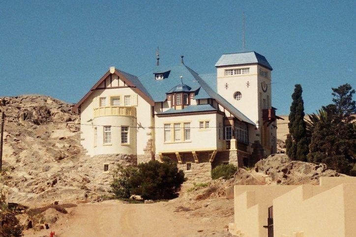 Wohnhaus des Geschätführers Goerke der Diamantengesellschaft