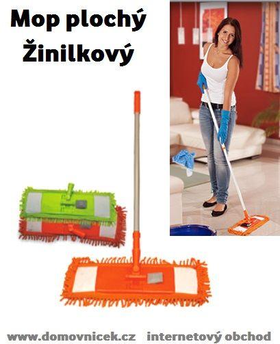 Mop na plovoucí podlahy - Domovníček.cz