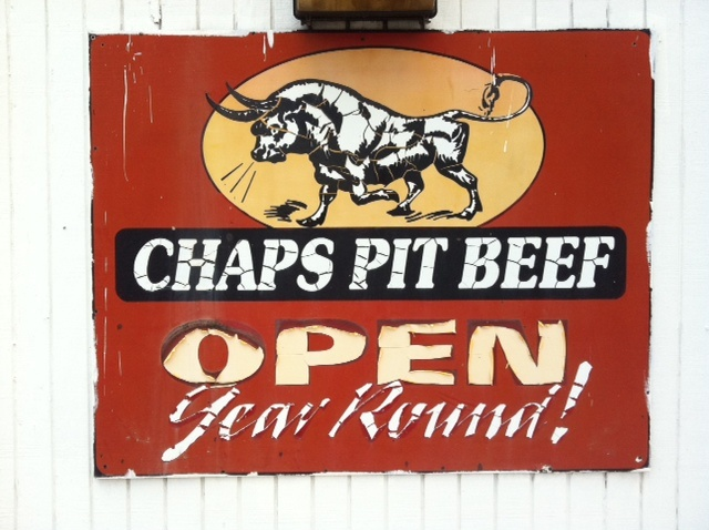 Chap's Pit Beef serves a great sandwich in Baltimore!  5801 Pulaski Hwy  Baltimore, MD 21205
