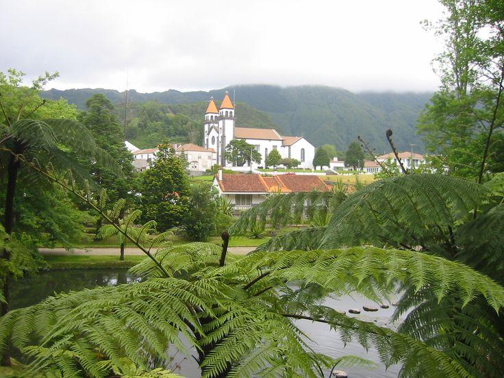 Church,Sao Miguel,Azores,Portugal