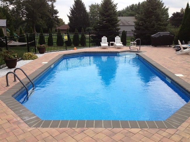 1000 images about in ground pools on pinterest vinyls for Grecian swimming pool