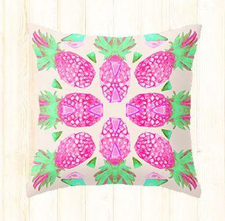 Pine Bloom Cushion | BRITT LASPINA