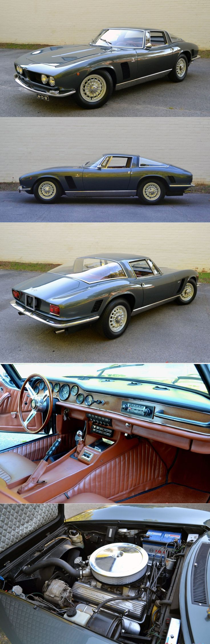 1966 Iso Grifo 350 GL / Italy / grey / 17-452 – Classic Car News Pics And Videos