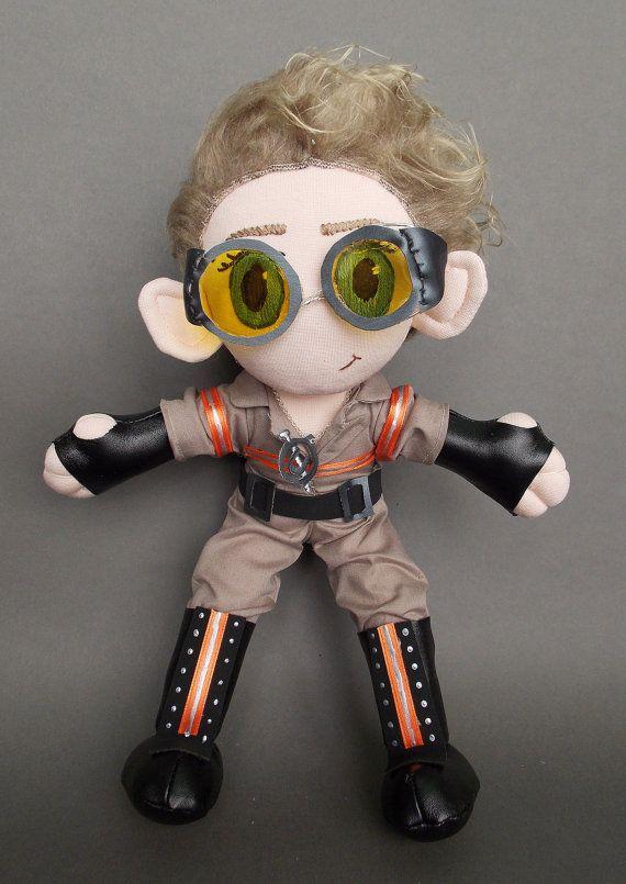 Jillian Holtzmann Ghostbusters Doll Plushie by MrDollsyPlushberley