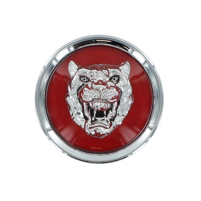 Jaguar Oem Bright Red Center Cap Badge Growler Set Of 4 Mjb6249aa Ebay Jaguar New Jaguar Automotive Art
