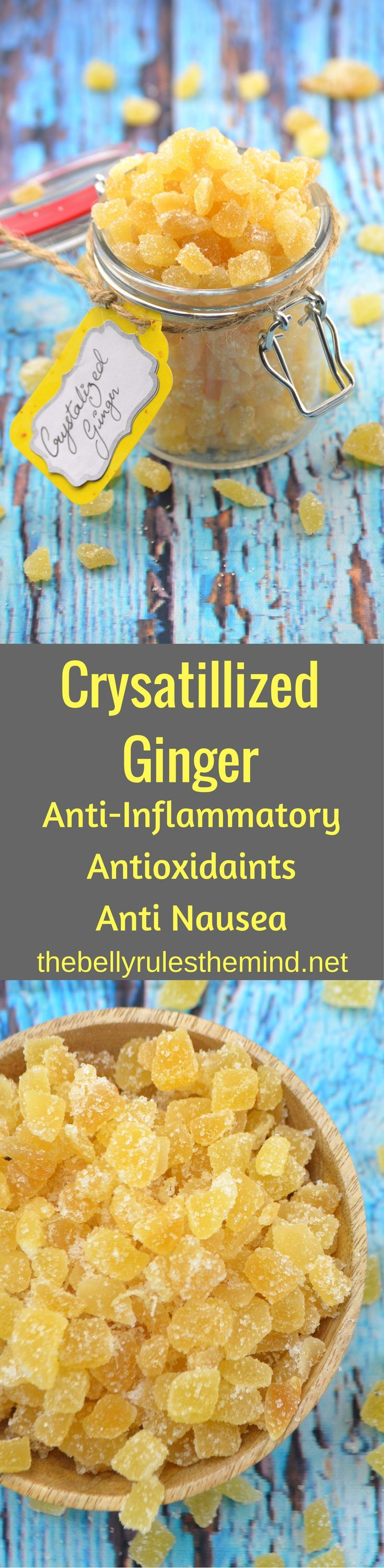 Try our Crystallized Ginger,this has numerous therapeutic properties including antioxidant effects, immune boosting abilities and it is a natural anti inflammatory!  @bellyrulesdmind
