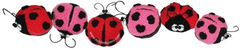 Tutorial: mariquitas amigurumi tejidas en crochet (amigurumi ladybug)!!