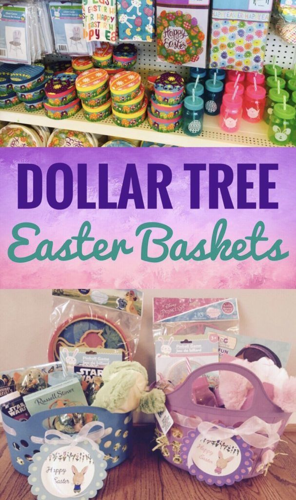 Dollar Tree Easter Baskets Make Amazing Easter Baskets Really Inexpensive With Items From Dollar T Dollar Tree Easter Basket Easter Basket Diy Easter Baskets