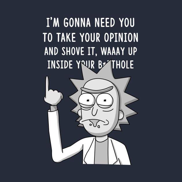 Rick - Shove it up