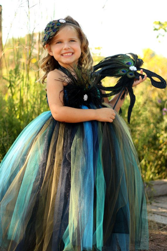 Peacock costume  lauriestutuboutique on Etsy