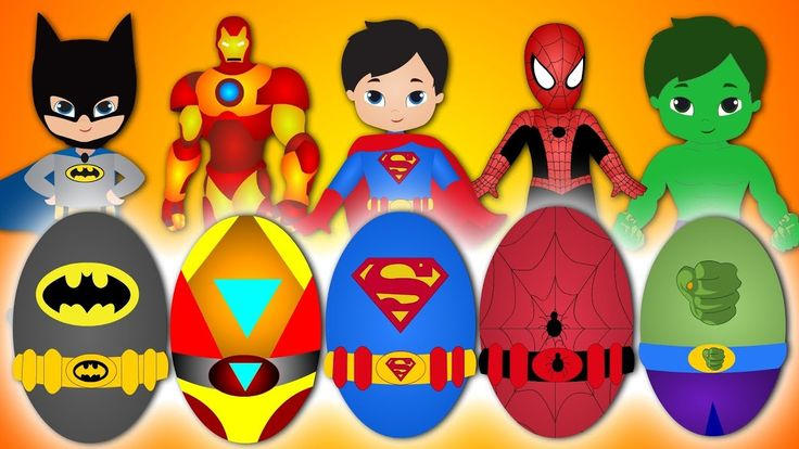 Surprise Eggs Finger Family Collection   Superheros Fight With Venom and Zombies Finger Family