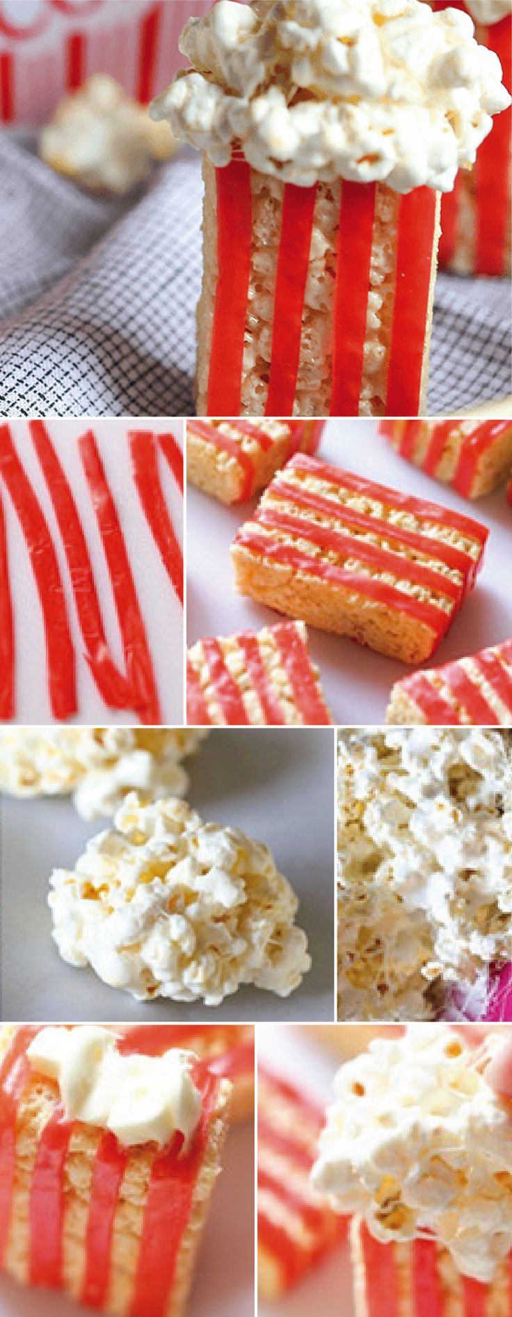 These adorable popcorn Rice Krispies Treats® are perfect for movie nights with your family. Whether you choose to make them for a theatre-themed birthday party or after-school snack, there are so many reasons to love this fun recipe.