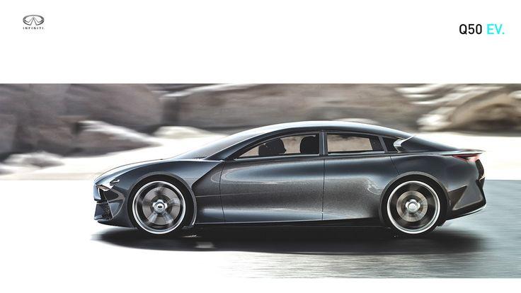 Infiniti prépare une version électrique de sa berline Q50