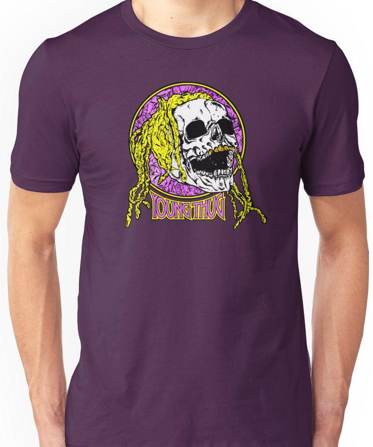 Young thug skull Unisex T-Shirt