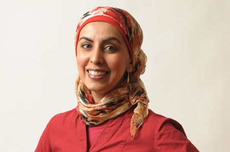 Laughing My Way to the Mosque with #ZarqaNawaz July 9 @SFU_W @IndianSummerCND #TIX http://bit.ly/1o6x5cy Zarqa Nawaz (creator of the hit TV series Little Mosque on the Prairie) has always straddled two cultures. She finds herself agonizing about which sparkly earrings will 'pimp out' her hijab, or flirting with the WalMart meat manager just to score the best Halal chicken just before Eid.  Books available for purchase at the venue, signing copies after the event.