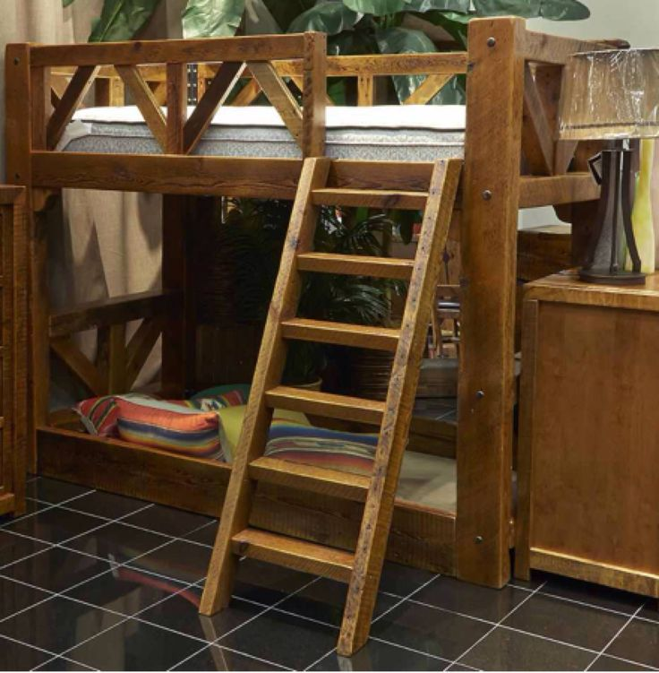 Adding this bunk bed to your child's room will bring fun and the promise of  durability - 24 Best Images About Reclaimed Wood On Pinterest Houston