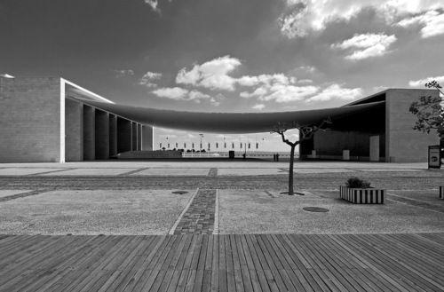 Expo 98 Pavilion, by Álvaro Siza, 1998 - in Lisbon, Portugal  CONCRETE CANOPY