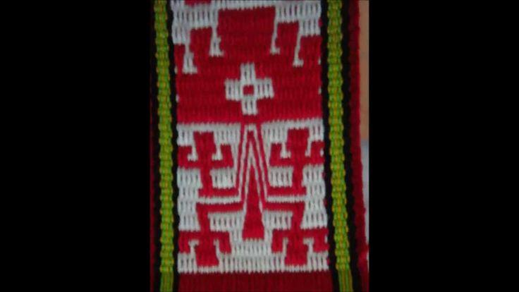 telar mapuche, el Lukutuwe