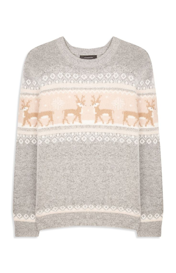 Primark - Products. Jumpers & Cardigans. Polar Bear Fairisle Jumper $14
