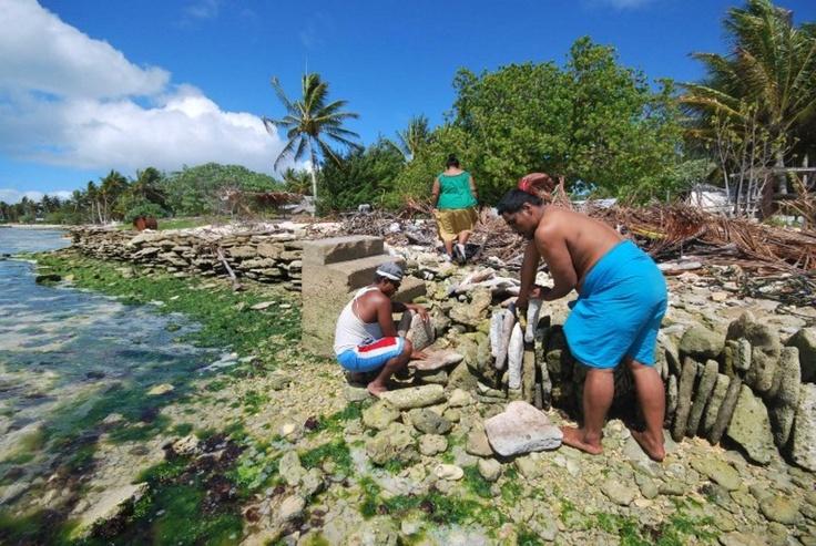 Réchauffement climatique Ces îles qui vont être englouties