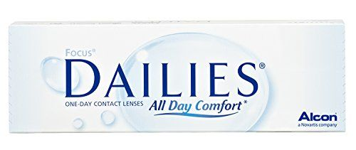 Focus Dailies All Day Comfort Tageslinsen weich, 30 St�ck / BC 8.6 mm / DIA 13.8 / -4.25 Dioptrien