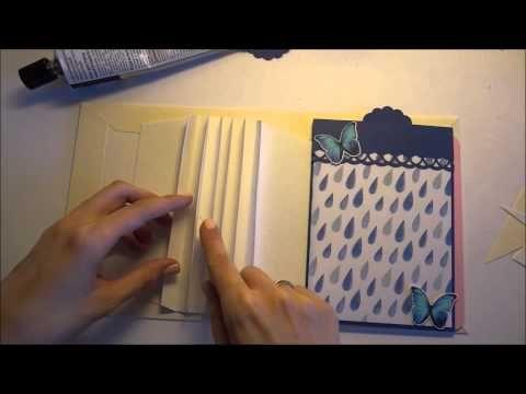 Мини альбом из конвертов, часть 2  - Скрапбукинг мастер-класс / Aida Handmade - YouTube