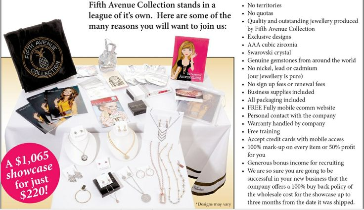 Fifth avenue collection welcomes you