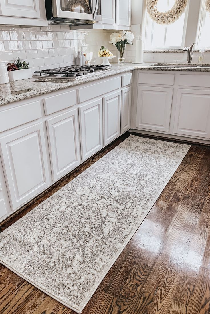 Kitchen Runner Rug In 2020 Rug Runner Kitchen White Kitchen Rugs Kitchen Mats Floor