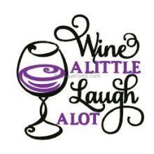 Free Wine Bottle Embroidery Designs