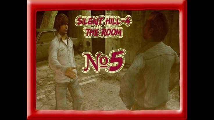 Silent Hill-4 The Room прохождение от Cybil Bennett часть 5.