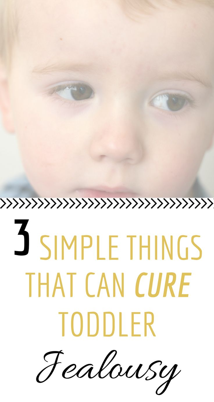 3 SIMPLE THINGS THAT CAN CURE TODDLER JEALOUSY | Implement these 3 steps when your toddler shows signs of jealousy. Straightforward and proven to work!