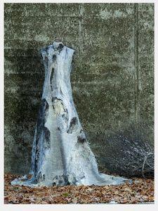Nunofelt Dress by Gioia Danielis