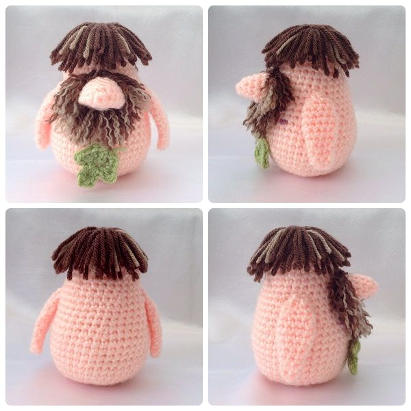 Adam Gonk Free crochet outfit patterns A Gonk's Journey