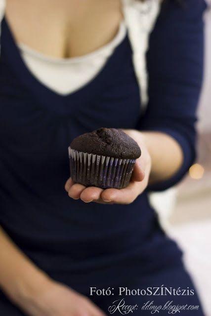 Hozzávalók: egy csipetnyi szeretet: Kakaós-fahéjas muffin