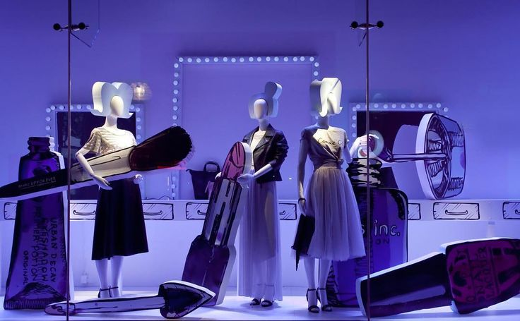 """DEBENHAMS,London,UK, """"A little more mascare Jill and I'm done!"""", pinned by Ton van der Veer"""