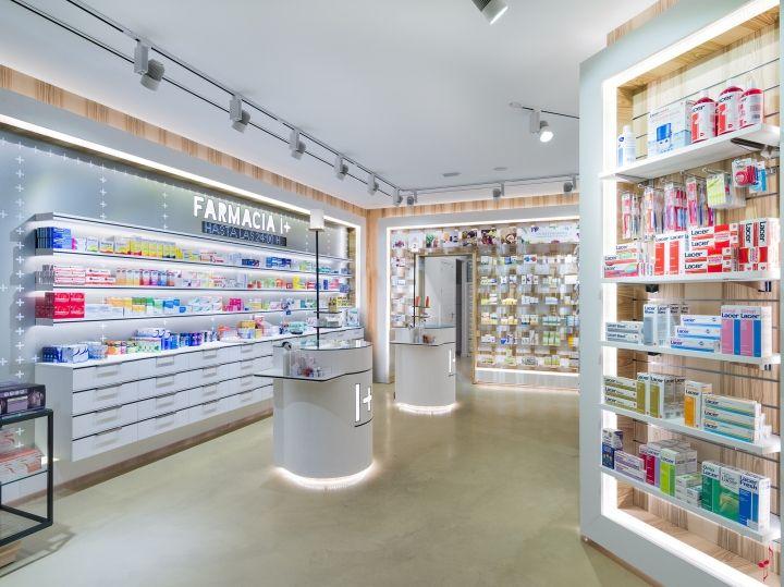 17 best ideas about pharmacy design on pinterest retail for Modern pharmacy design