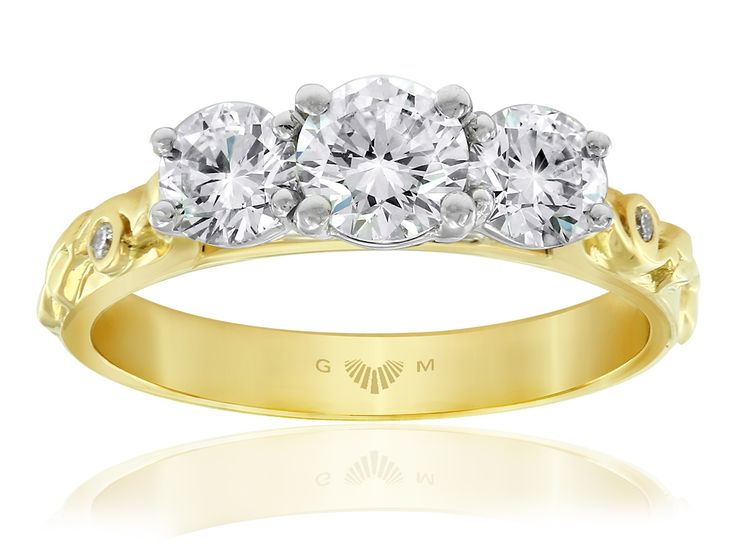 Gerard McCabe Floral Engagement Ring Style