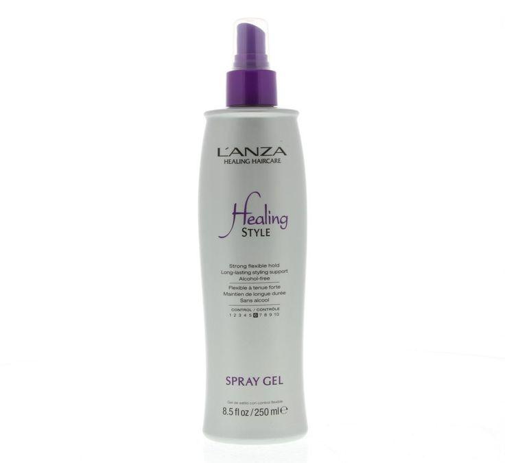 L'Anza Healing Style Spray Gel Control 6 250ml  L'Anza Healing Style Spray Gel - Verstevigingsfactor 7. Ultrafijne lichtgewicht nevel die zich gelijkmatig verdeelt over het haar. Ondersteunt het haar en geeft body en glans. Keratin Healing System: Versterkt en herstelt het haar van binnenuit en maakt het beter modelleerbaar. Voor gezonder haar een eenvoudigere styling en een langere houdbaarheid. Kleurbescherming: Verzegelt de haarkleur en voorkomt verbleken. De kleur blijft langer diep en…