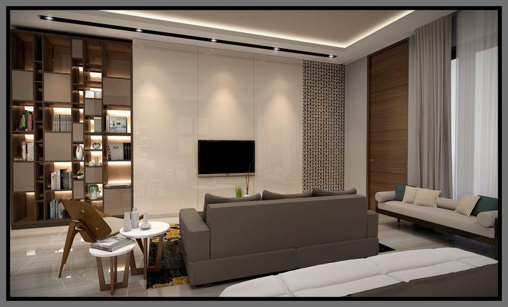 Puri mas master bedroom tv view