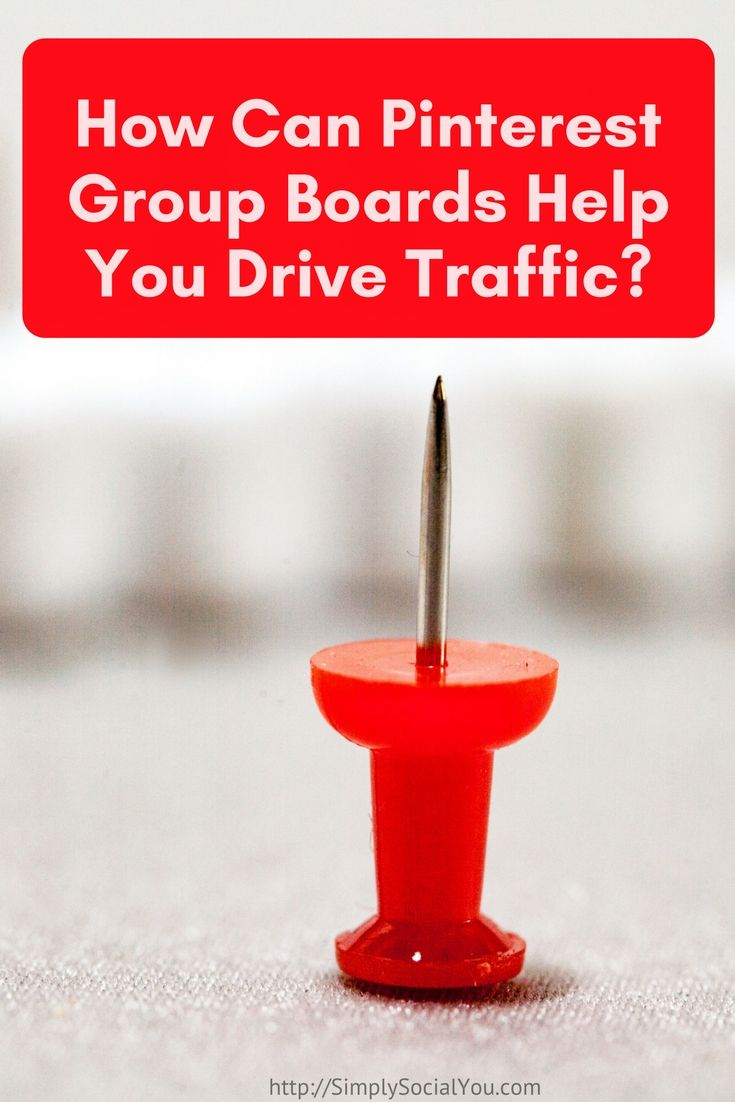 Are you using Pinterest Group Board? Here's what I'm doing to generate traffic from them! | Pinterest | Pinterest Group Boards | Social Media Marketing |  http://simplysocialyou.com/blog/how-can-pinterest-group-boards-help-you-drive-traffic/