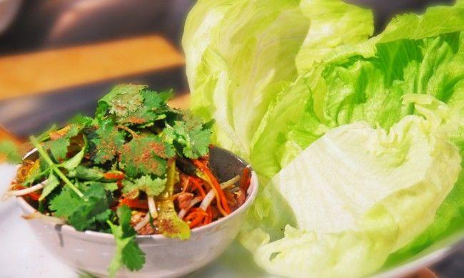 Kylie Kwong Recipe – Sung Choi Bao of Lamb