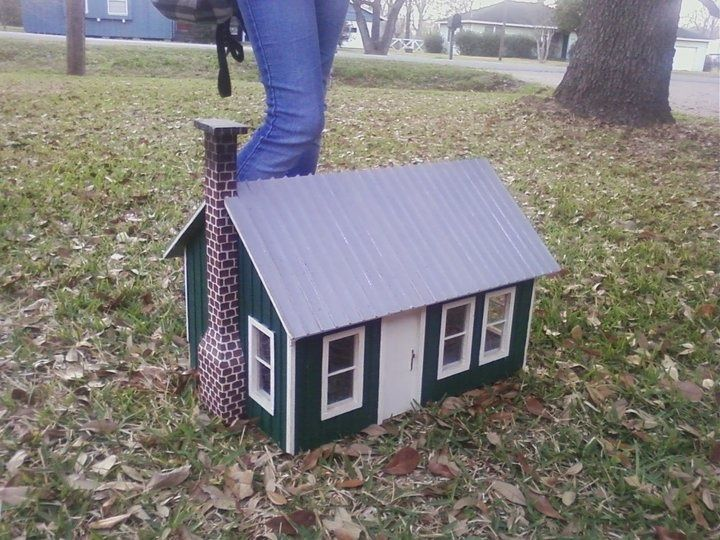 9 best images about doll house made from scrap wood on pinterest - Scrap wood decorated house ...