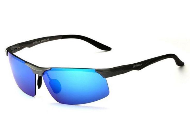 Pánské značkové sluneční brýle černé s modrým sklem VEITHDIA Na tento produkt se vztahuje nejen zajímavá sleva, ale také poštovné zdarma! Využij této výhodné nabídky a ušetři na poštovném, stejně jako to udělalo již velké …