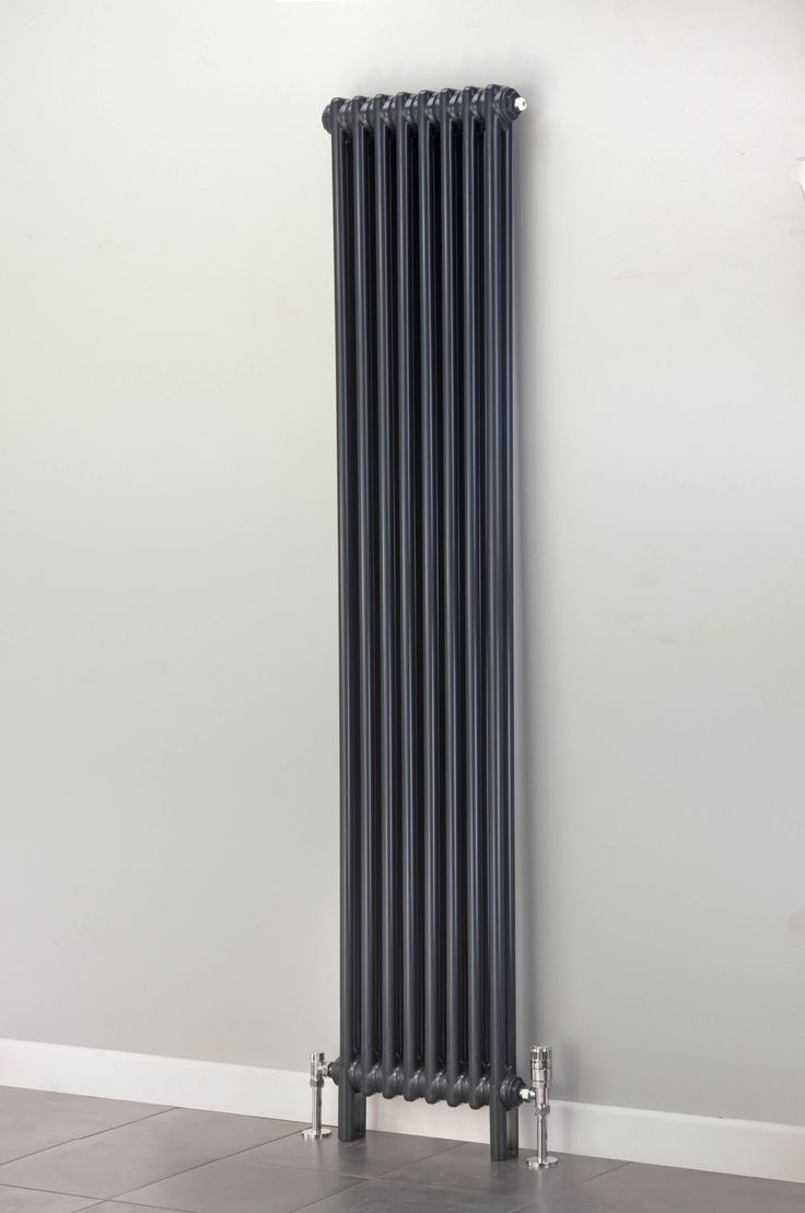 Cheshire Radiators Kingsley 2 Column Vertical Steel Radiator In Colour Cast Iron Period